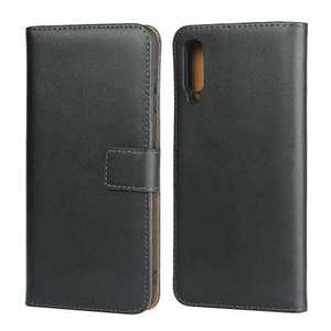 For Samsung Galaxy A50 Genuine Leather Wallet Case Cover