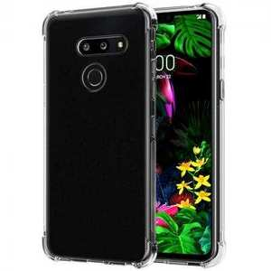 For LG Stylo 6 K51 G8 ThinQ Case Crystal Clear TPU Shockproof Phone Cover