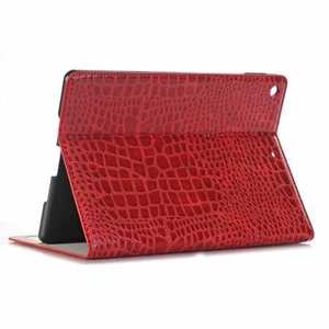 "For iPad 7th 8th Gen 10.2"" Crocodile Leather Smart Cover Case"
