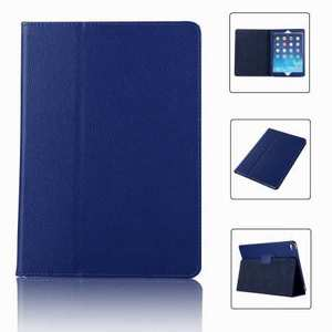 "For iPad 7th 8th Gen 10.2"" Stand Folio PU Leather Smart Case Cover - Blue"