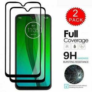 For LG Stylo 6 K51 Reflect V60 FULL Coverage 9H Tempered Glass Screen Protector[2-Pack]
