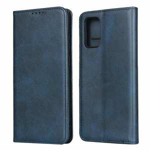 For Samsung Galaxy S20 Plus Magnetic Leather Wallet Flip Case Card Slot - Dark Blue