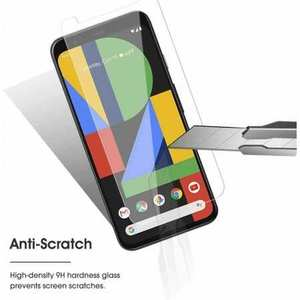 For Google Pixel 5 4a 4 3a 3 XL Premium HD Clear Tempered Glass Screen Protector