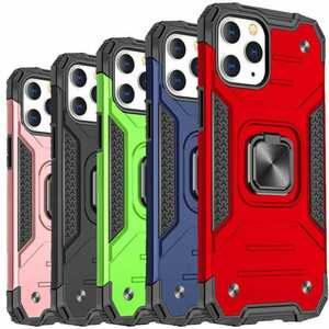 Case For iPhone 12 Pro Max 11 XR XS Shockproof Rugged 360 Magnetic Ring Cover