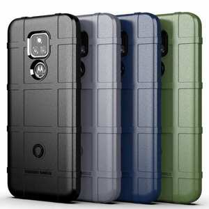 For Motorola Moto G Play Power 2021 Case Rugged Bumper Shield TPU Cover