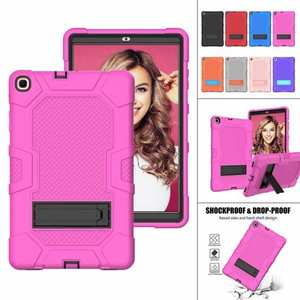 "For Samsung Galaxy Tab A7 10.4"" SM-T500 T505 Case Impact Shockproof Hybrid Stand Cover"