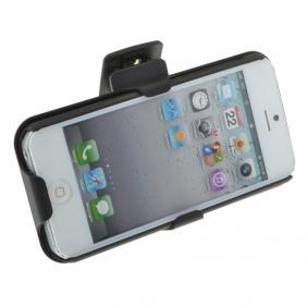 sale retailer 88e80 cd06e Hard Plastic Cover With belt clip holster and kickstand Combo Case for  iPhone 5 5S