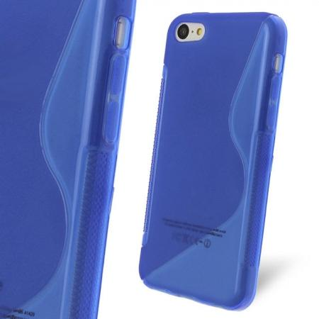 iphone cases com s line wave gel cover for apple iphone 5c blue 11720 11720