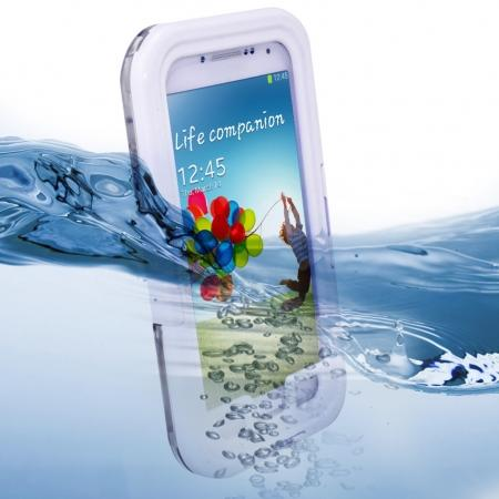 Waterproof Shockproof Dirt Snow Hard Case For Samsung Galaxy S4 SIV i9500 - White