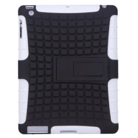 Shockproof Survivor Military Duty Hybrid Hard Case For iPad Air - White