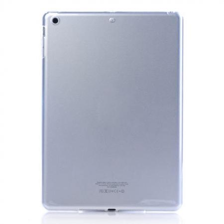 High Quality Clear Transparent TPU Soft Case Cover for Apple iPad Air 5 - Transparent