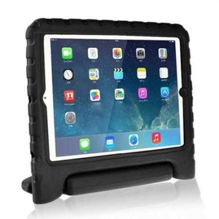 Kids Children Protective EVA Foam Cover Shockproof Case Stand for iPad Air - Black