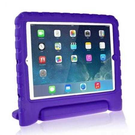 Kids Children Protective EVA Foam Cover Shockproof Case Stand for iPad Air - Purple