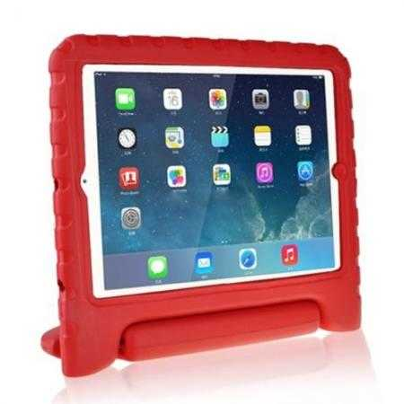 Kids Children Protective EVA Foam Cover Shockproof Case Stand for iPad Air - Red