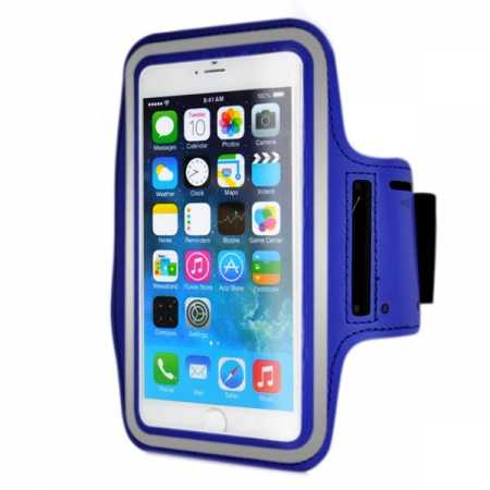 Sports Running Armband Case Cover For iPhone 6 Plus/iPhone 6S Plus 5.5inch - Blue