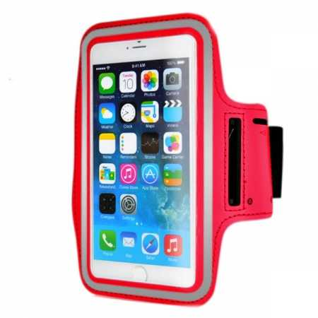 Sports Running Armband Case Cover For iPhone 6 Plus/iPhone 6S Plus 5.5inch - Red