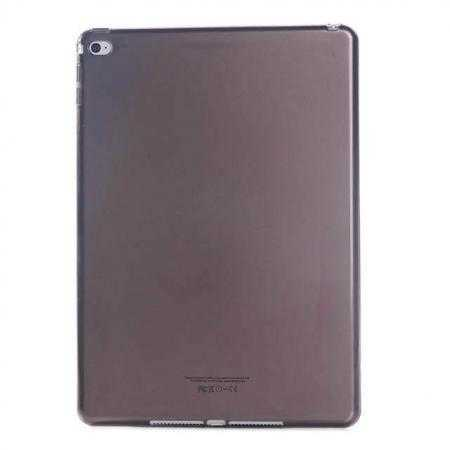 High Quality Matte Frosted Soft Tpu Gel Case Back Cover for iPad Air 2 - Black