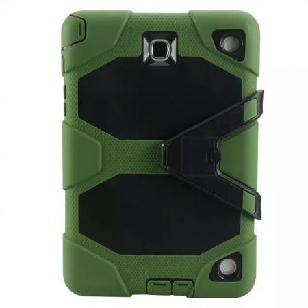 ShockProof Protect Case Cover With Stand For Samsung Galaxy Tab A 9.7 T550 - Army green