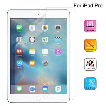 HD Clear Crystal Transparent Screen Protector Film Guard For iPad Pro 12.9inch