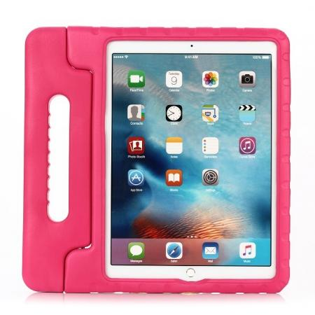 "EVA Foam ShockProof Case Stand Cover w/Handle For iPad Pro 12.9"" - Hot pink"