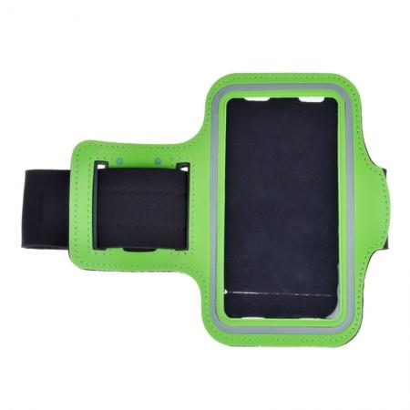 Neoprene Sport Running Armband Case for Samsung Galaxy S7 G930 - Green