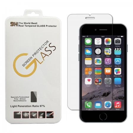 Ultra Clear 9H Hardness Tempered Glass Screen Protector for iPhone SE 4.7 2020 6 7 8 Plus