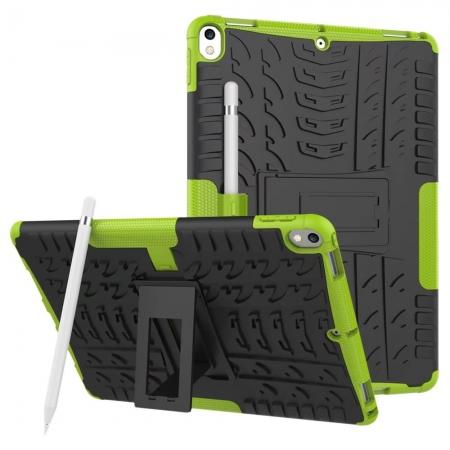 Rugged Armor TPU Hard Hybrid ShockProof Stand Case Cover For iPad Pro 10.5 inch - Green