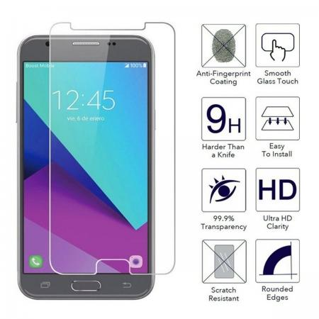 Premium Real Tempered Glass Screen Protector Film for Samsung Galaxy J3 Emerge