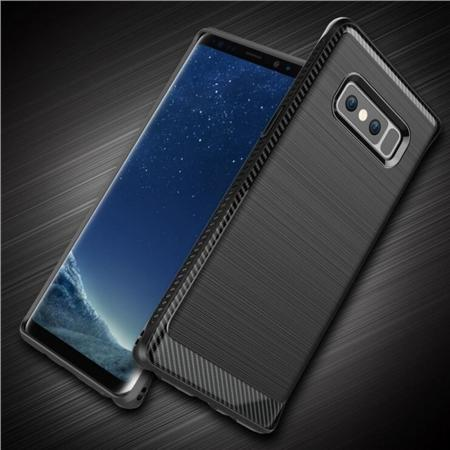 Shockproof Tough Brushed Texture Hybrid Armor Drop Protection Case For Samsung Galaxy Note 8