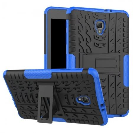 Hybrid Rugged Hard Case Cover with Kickstand for Samsung Galaxy Tab A 8.0 2017 T380/T385 - Blue