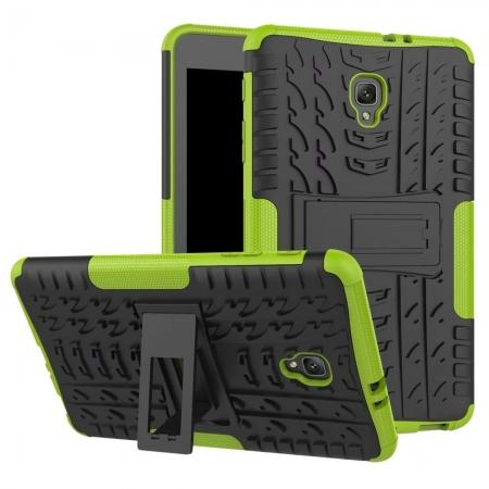 Hybrid Rugged Hard Case Cover with Kickstand for Samsung Galaxy Tab A 8.0 2017 T380/T385 - Green