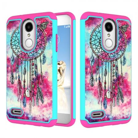 Full Body Hybrid Dual Layer ShockProof Protective Case For LG Tribute Dynasty / Aristo 2 - Dream Catche