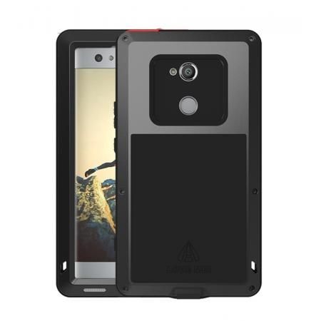 Aluminum Extreme Shockproof Weather Dust/Dirt Proof Resistant Case For Xperia XA2 Ultra - Black
