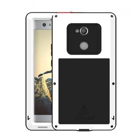 Aluminum Extreme Shockproof Weather Dust/Dirt Proof Resistant Case For Xperia XA2 Ultra - White