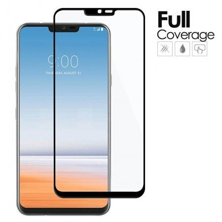 Full Coverage Premium Tempered Glass Screen Protector For LG G7 ThinQ
