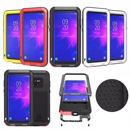 For Samsung Galaxy Note 9 Metal Aluminum Armor Shockproof Bumper Case