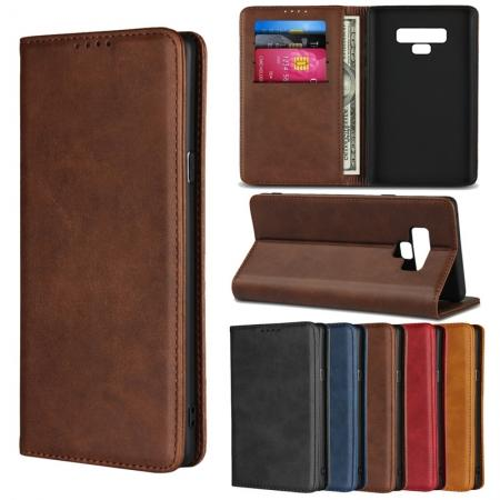 Magnetic Flip Stand Leather Wallet Phone Case for Samsung Galaxy S20 Ultra Plus S10 Note 10 Plus S8