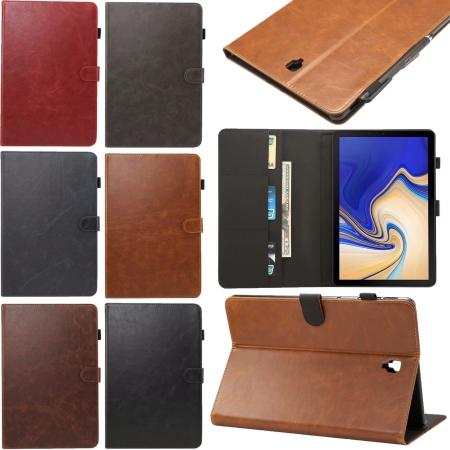 Leather Stand Case Cover For Samsung Galaxy Tab S4 10.5 T830 T835 S3 T820 A2 T590