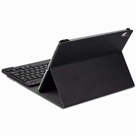 Bluetooth Keyboard Stand Leather Case for iPad pro 11-inch 2020- Black
