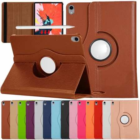 360 Degrees Rotating Stand Leather Case For iPad Pro 11-inch