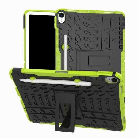 For iPad Pro 11-inch Dual Layer Hybrid Shockproof Kickstand Case - Green