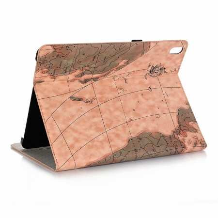 "Map Smart Leather Case for iPad Pro 12.9"" 2018 - Light Brown"