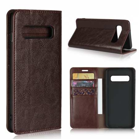 Magnetic Wallet Genuine Leather Case Cover For Samsung Galaxy A51 S10 S20 Ultra Plus