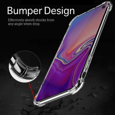 Ultra Lightweight Anti-Scratch Reinforced Corner Protection Case for Samsung Galaxy S10
