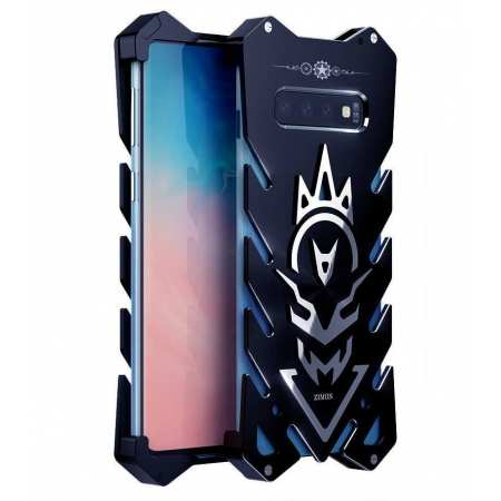 Shockproof Aluminum Metal Case For Samsung Galaxy S10e - Black