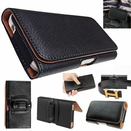 For Nokia 6.2 / Nokia X71 Belt Clip Loop Holster Waist Pouch Leather Case Cover