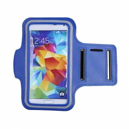 For Nokia 6.2 / Nokia X71 Armband Case Sport GYM Running Exercise Arm Band - Blue