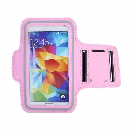 For Nokia 6.2 / Nokia X71 Sports Armband Case Running Gym Jogging Cover Arm Band - Pink