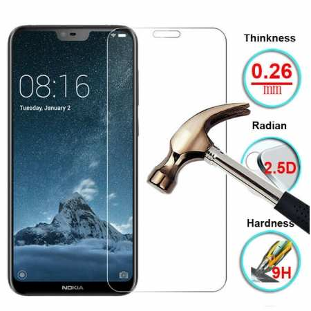 For Nokia 1 Plus Premium Clear Tempered Glass Guard Screen Protector Film Cover