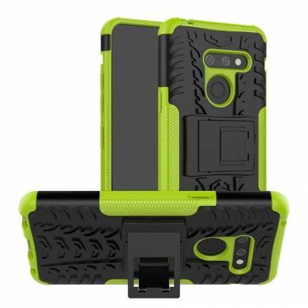 For LG G8 ThinQ Shockproof Hybrid Rugged Slim Case Cover - Green